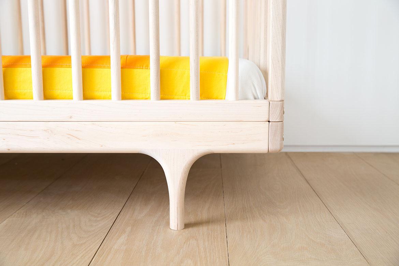 Caravan Crib Raw Foot Detail