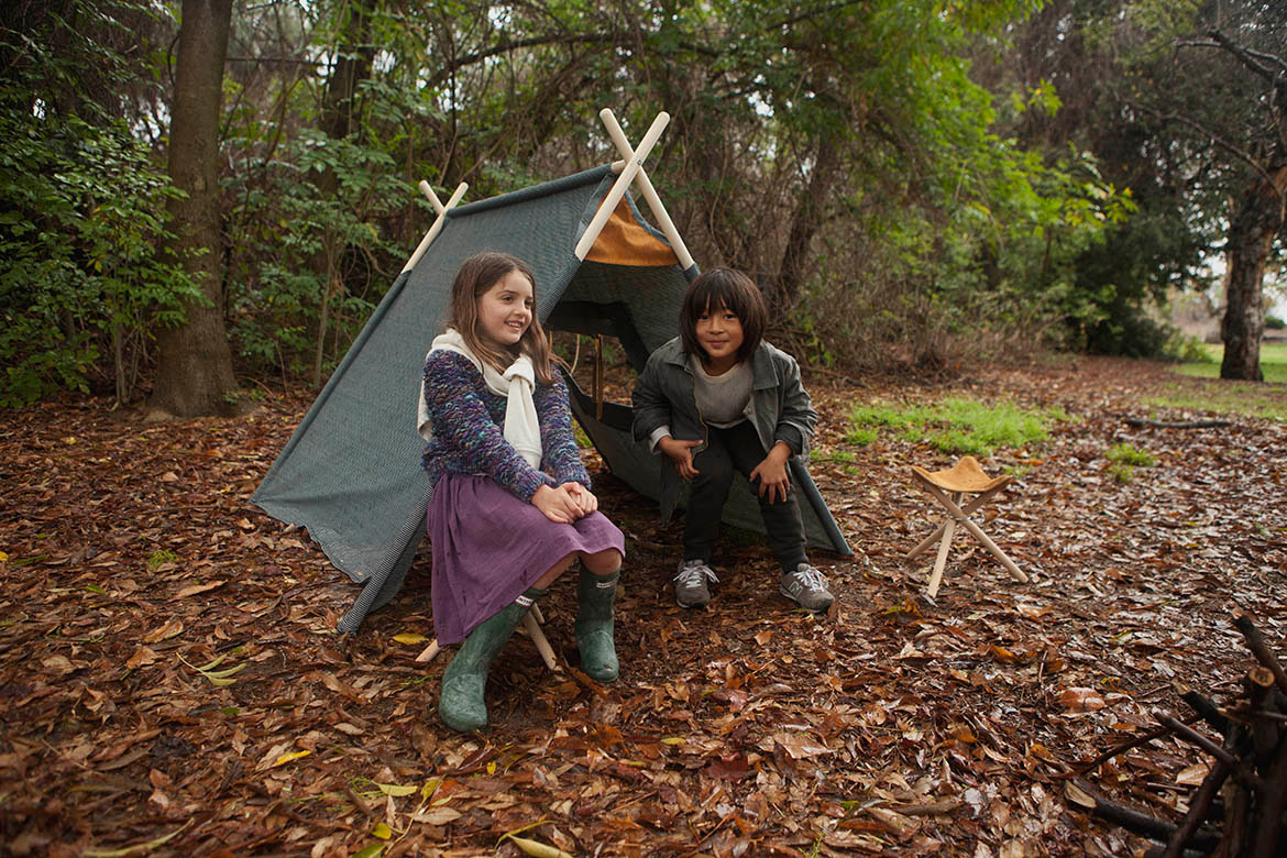 Field Tent Railroad and Backcountry Stools 'in the wild'