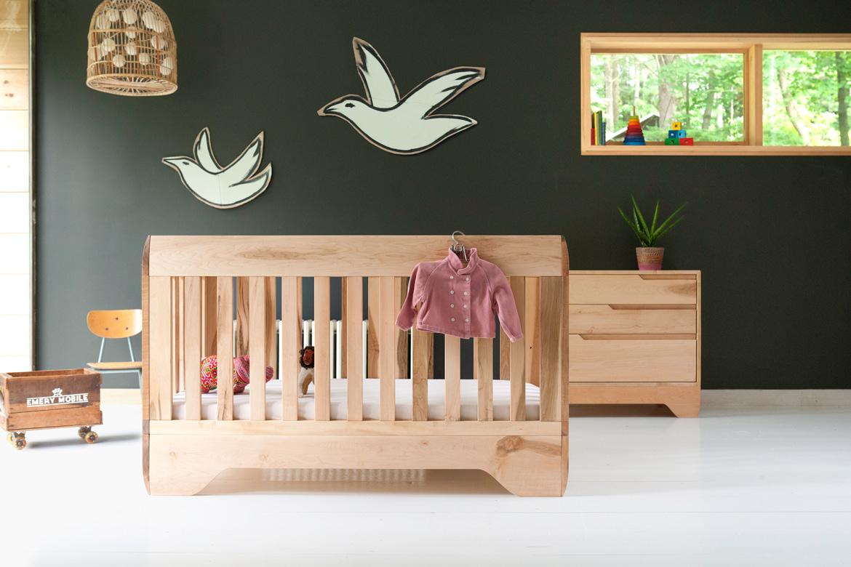 Echo Crib Oiled