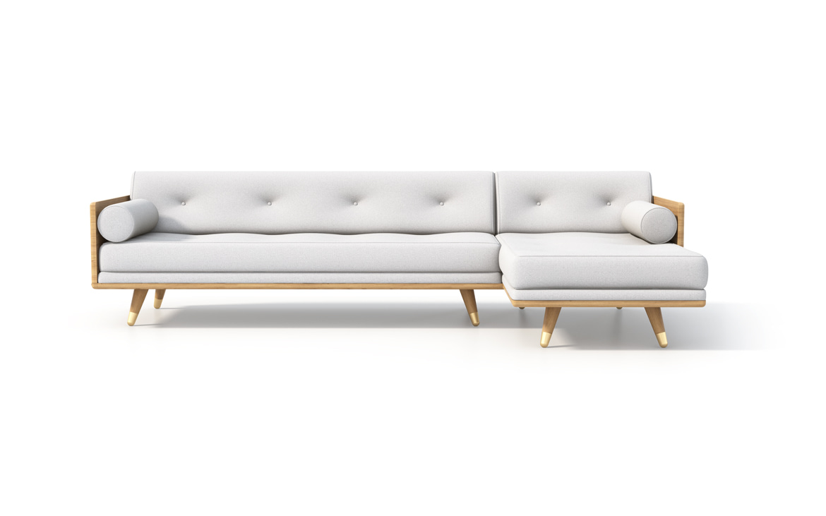 No.5 Series Sectional in Bone